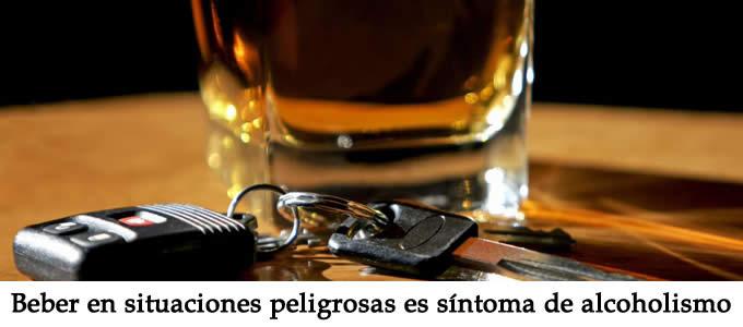 sintomatología del alcohólico